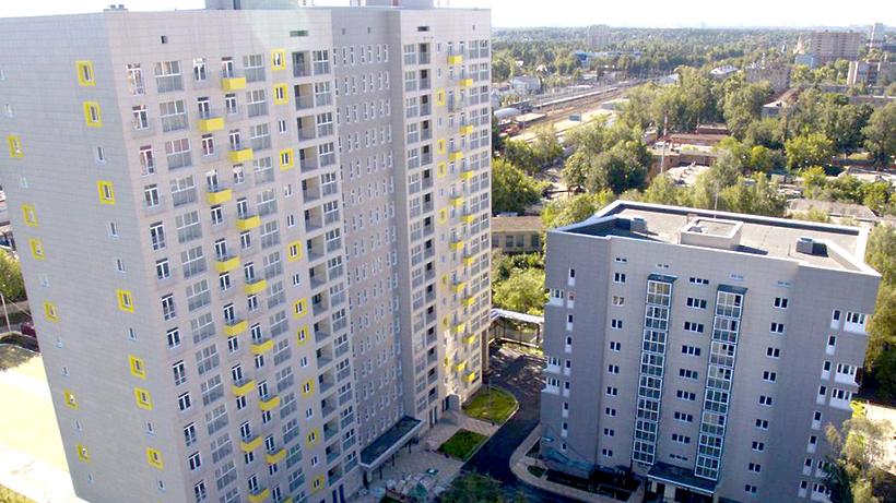 Почти 84 тыс. квартир построили в Московской области в январе-октябре 2016 года