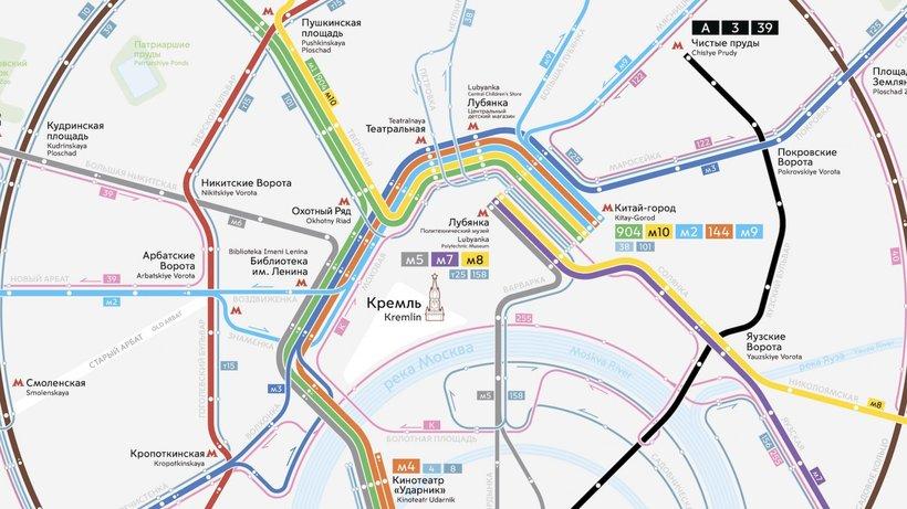 В столице России будет запущена новая сеть наземного транспорта