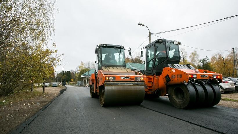 ВПодмосковье в этом 2016г. отремонтировали неменее 2000км дорог