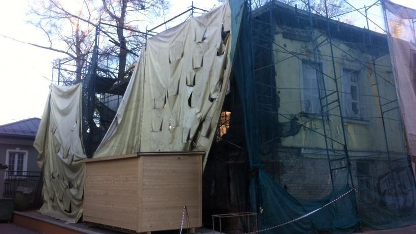 Вособняке Мануйлова наулице Достоевского началась комплексная реставрация