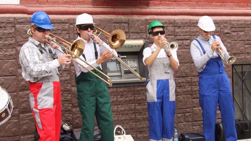 Чиновники приняли решение провести фестиваль уличной музыки вразгар зимы