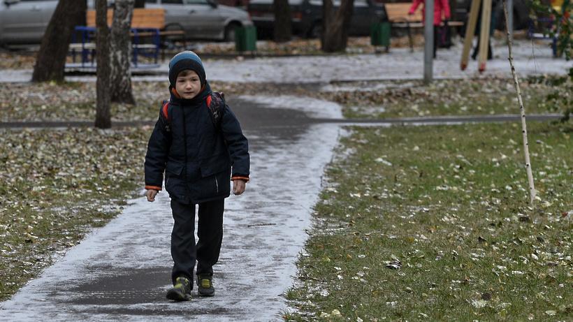«Желтый» уровень опасности объявлен в столице из-за тумана