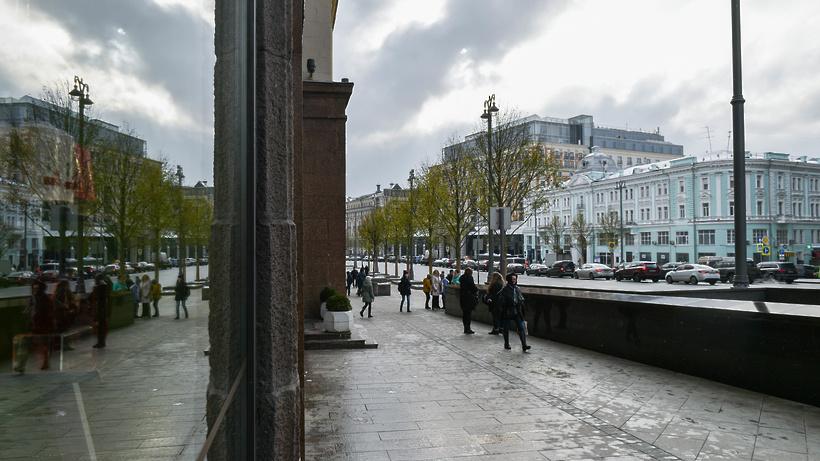 Тверская улица натри дня будет пешеходной ради празднования Нового года