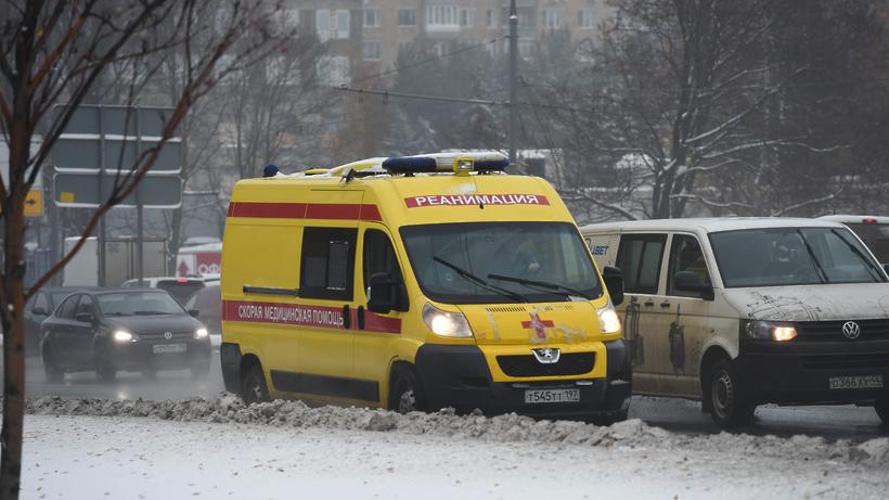 Один человек пострадал вДТП стремя авто вцентре столицы