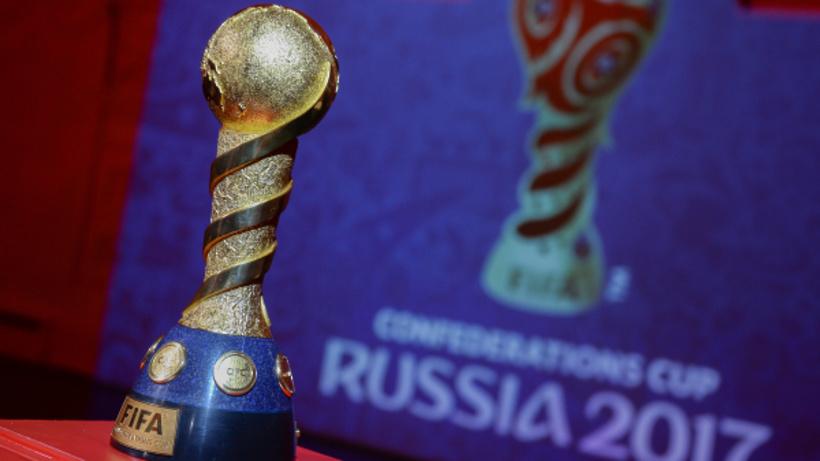 В столице России вручили 1-ый паспорт футбольного болельщика Кубка конфедераций