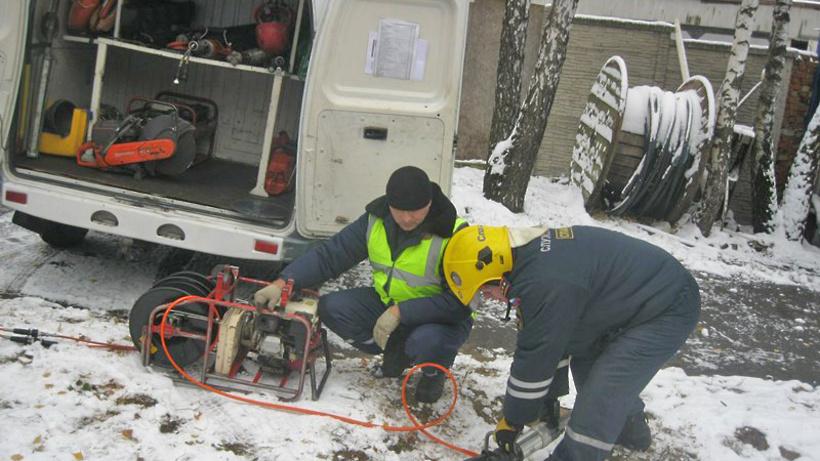 В клинике лётно-испытательного состава вПодмосковье замёрзли трубы