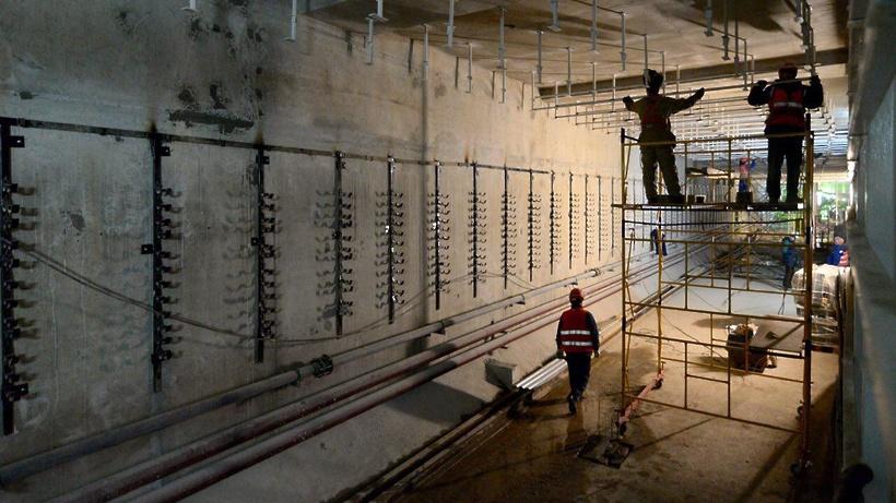 «Нижняя Масловка» будет  последней построенной в столице  станцией глубокого заложения
