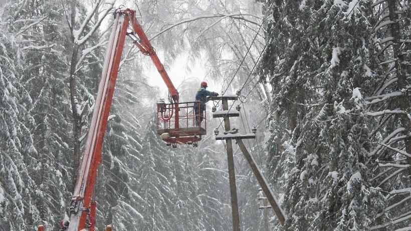 Энергетики области не допустили аварий в праздничные дни