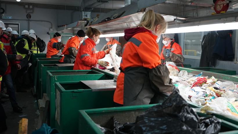 Воскресенск завод по переработке мусора