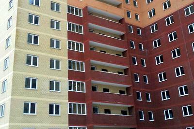 Специалисты приступили к монтажным работам в строящемся жилом доме в Жуковском