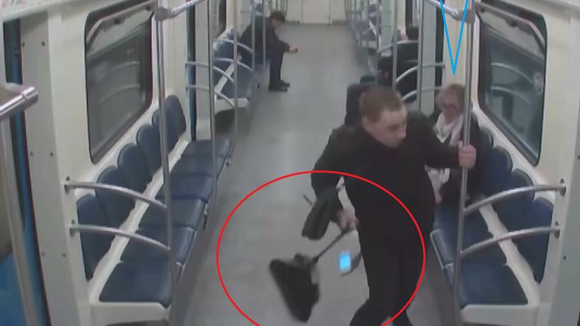 ВМосковском метро задержали «потрошителя» сумок