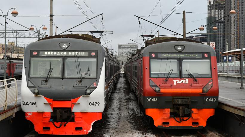 Электрички ЦППК начнут следовать поновому расписанию с11декабря