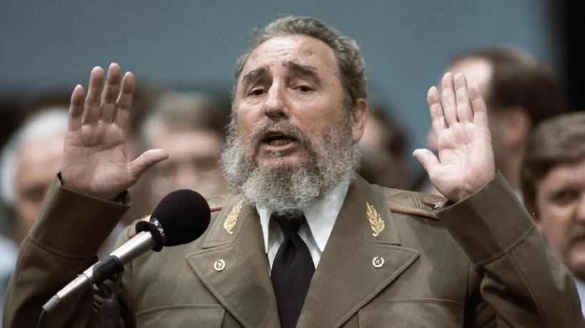 В государственной думе обсуждают установку монумента Фиделю Кастро наАллее космонавтов в столицеРФ