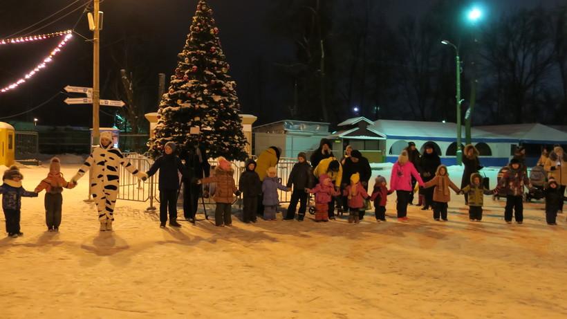 Конкурс налучшее новогоднее оформление объявили вЛенинском районе