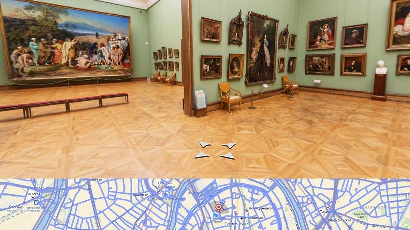 Все залы Третьяковской галереи доступны наЯндексе