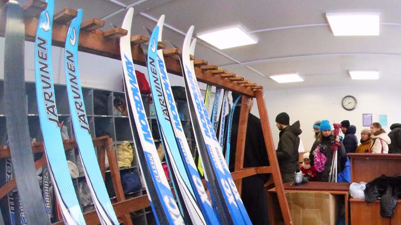 НаВДНХ открылся 1-ый лыжный маршрут впарке «Останкино»