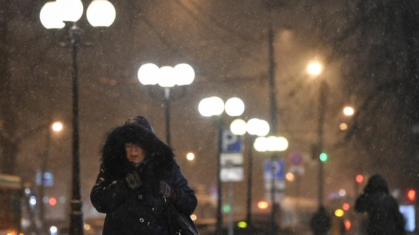 МЧС предупредил жителей столицы огололедице исильном ветре
