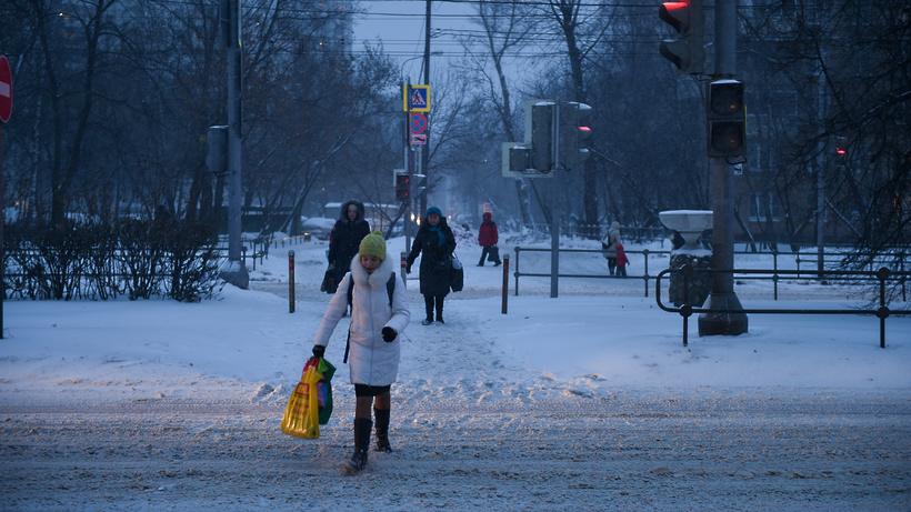МЧС предупреждает жителей столицы о стремительном похолодании исильном ветре