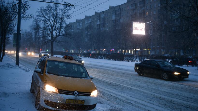 Количество вызовов такси в Дубне увеличилось на 50% из-за сильных морозов