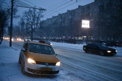 В Московском регионе увеличился спрос на такси из‑за похолодания