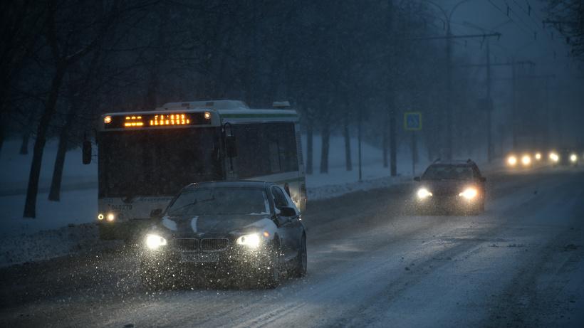 На столицу России надвигается кошмарный снегопад
