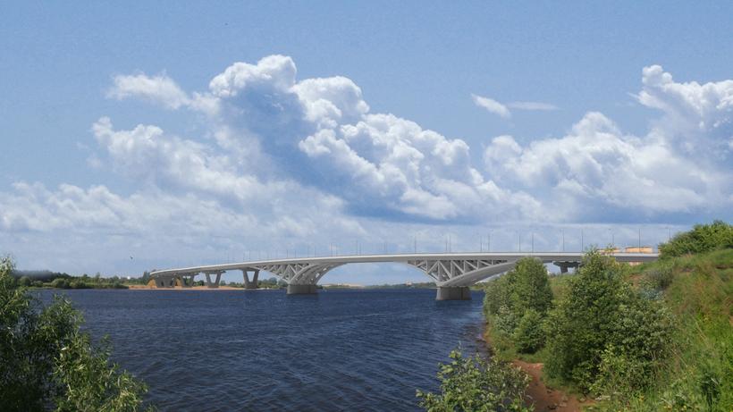 Контракт на строительство моста через реку Волгу в Дубне подписали в Подмосковье