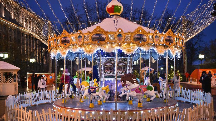Три площадки фестиваля «Путешествие вРождество» продолжат работу 16января