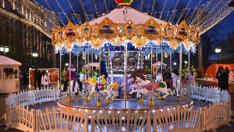 Фестиваль «Путешествие вРождество» уже посетили семь млн.  человек