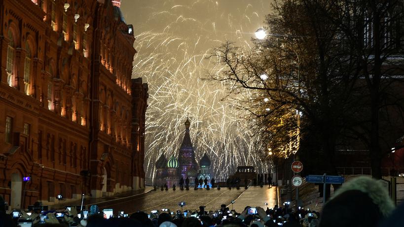 Собянин подчеркнул высокий уровень работы служб городского хозяйства вновогодние праздники