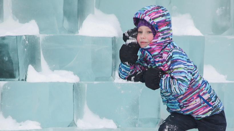 Зимние забавы: в столице появится ледяной конструктор