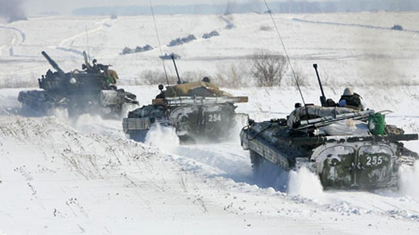 Танковые стрельбы прошли вПодмосковье