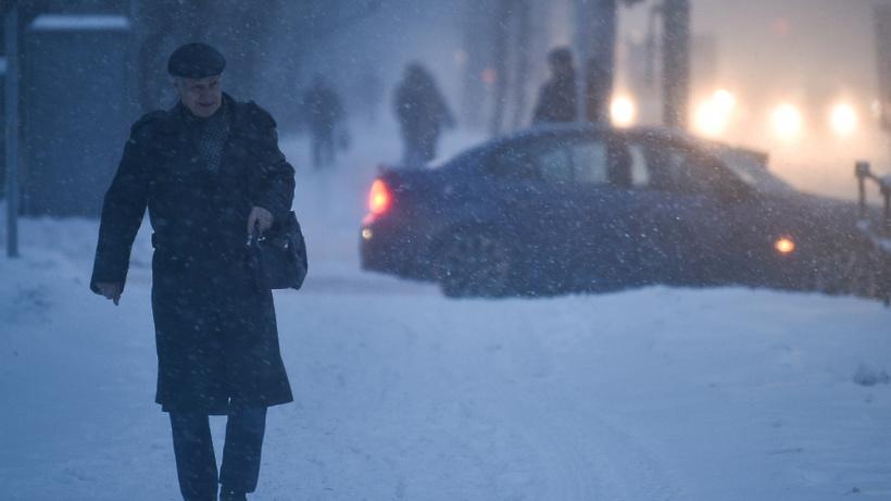 «Желтый» уровень опасности объявлен в российской столице иПодмосковье