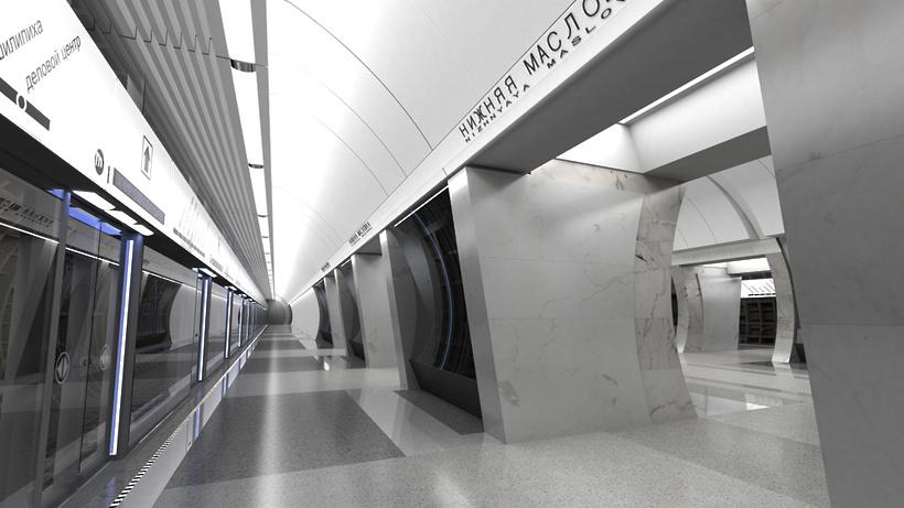 Названа дата запуска станции метро «Нижняя Масловка»