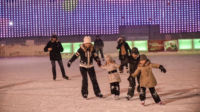Зимний сезон начнется впарках столицы 11ноября