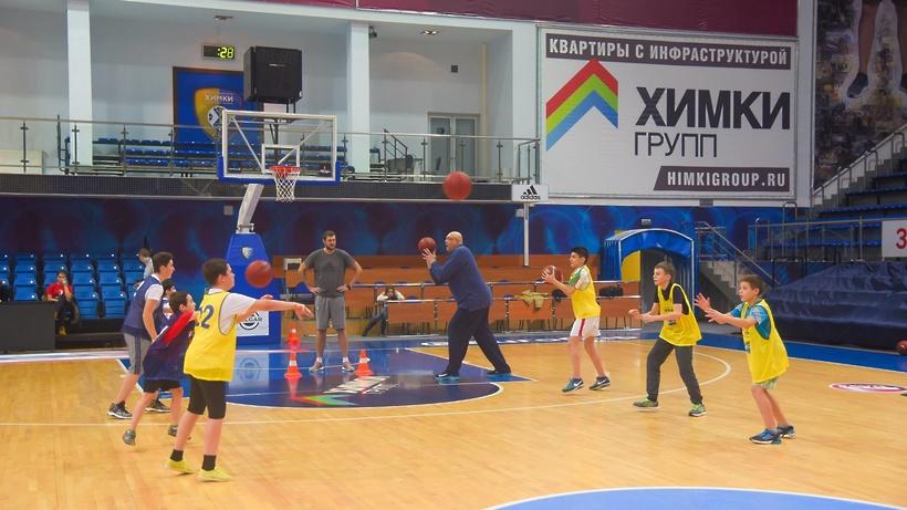 Благотворительный баскетбольный турнир прошел вХимках
