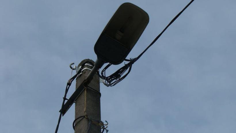 Уличное освещение восстановили в поселке Нахабино Красногорска