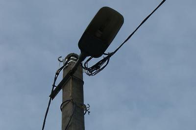 В поселке Поливаново Подольска восстановили уличное освещение