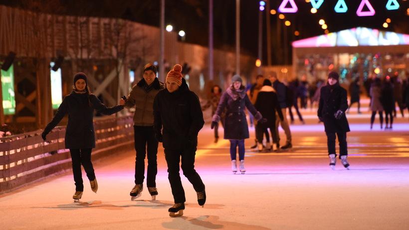 Зимний сезон впарках столицы откроется 11ноября