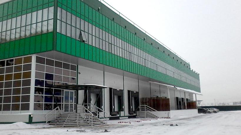 Складской комплекс площадью 7 тыс квмпостроят вЭлектроуглях