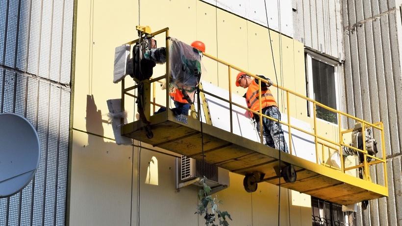 Полноценный ремонт домов вПодмосковье идет пографику