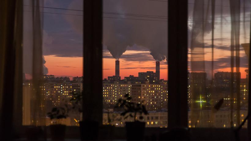 Ночь на воскресенье в Московском регионе была по‑июльски теплой