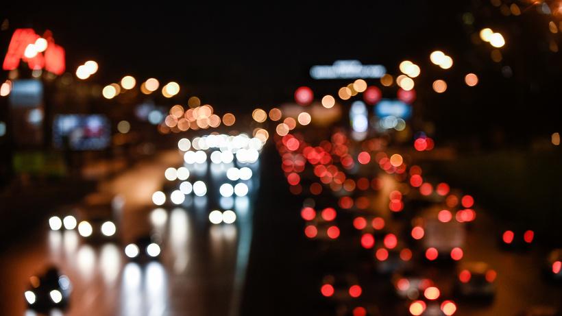 Пробки вовторник вечером в столице достигли 9 баллов