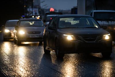 Пробка длиной более 2 км образовалась на автодороге А‑107 в Подольске