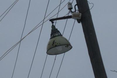 Уличное освещение восстановили в микрорайоне Люберец
