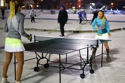 Чемпионат России по настольному теннису на коньках провели в Люберцах