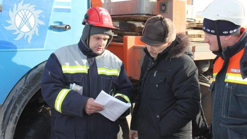 Энергетики провели тренировку по ликвидации последствий стихийного бедствия в регионе