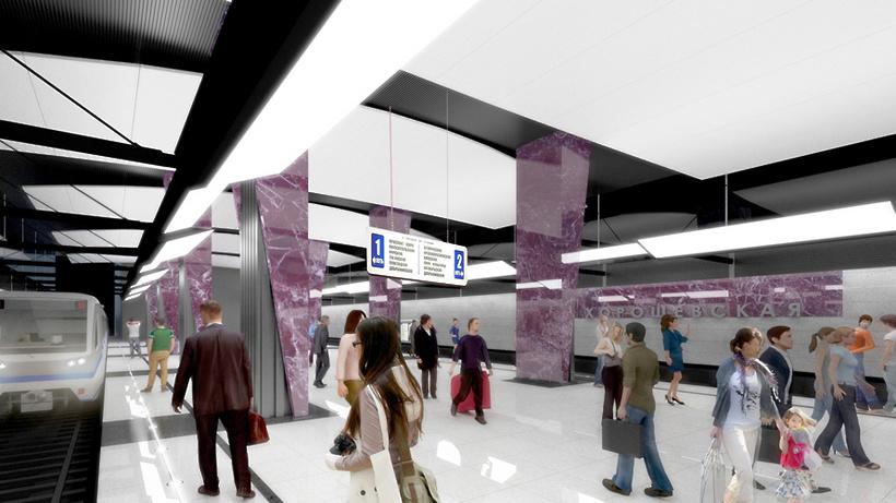 Новая станция врайоне Нагатинского затона появится в 2020-ом