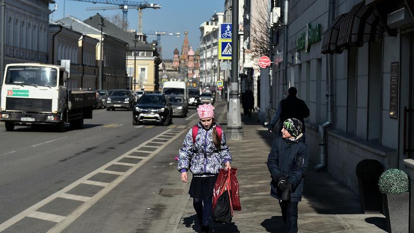 Март в российской столице стал самым теплым запоследние 10 лет
