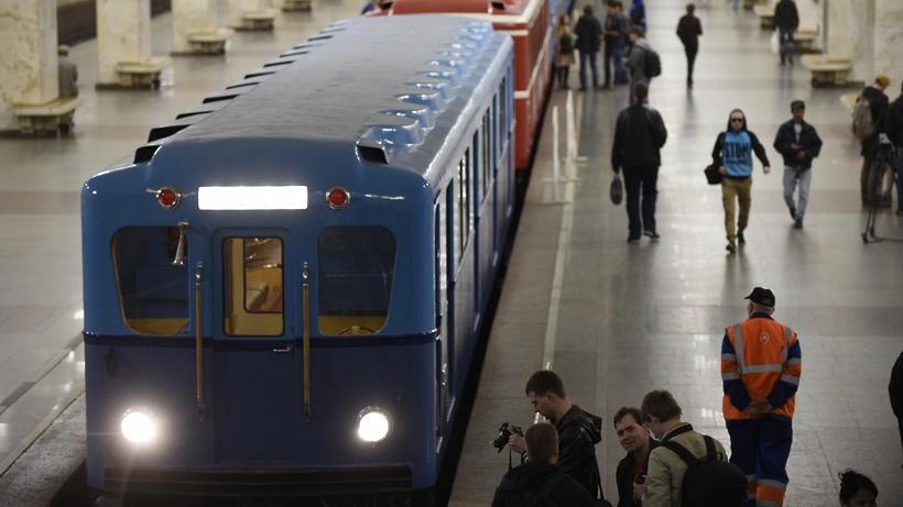 «Парад поездов» пройдет наКольцевой линии метро 13 и14мая