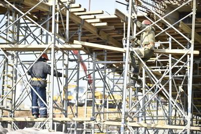 Строительство двух корпусов ЖК «Ильинские луга» в Красногорске идет по графику